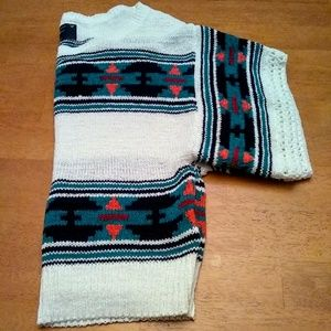 American Eagle Outfitters Aztec Sweater